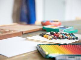 Kunsttherapeutische Malgruppe