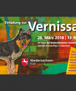 Vernissage der Aue-Kreativschule e.V. am 26.03.2018