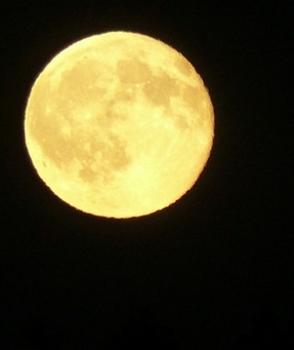 Der Mond – ein Beitrag aus dem Modul kreatives Schreiben